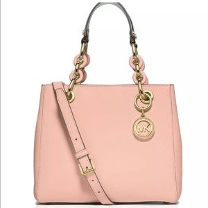 💯authentic Michael Kors Cynthia small satchel bag